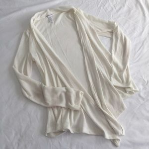 Cream H&M Cardigan Sweater